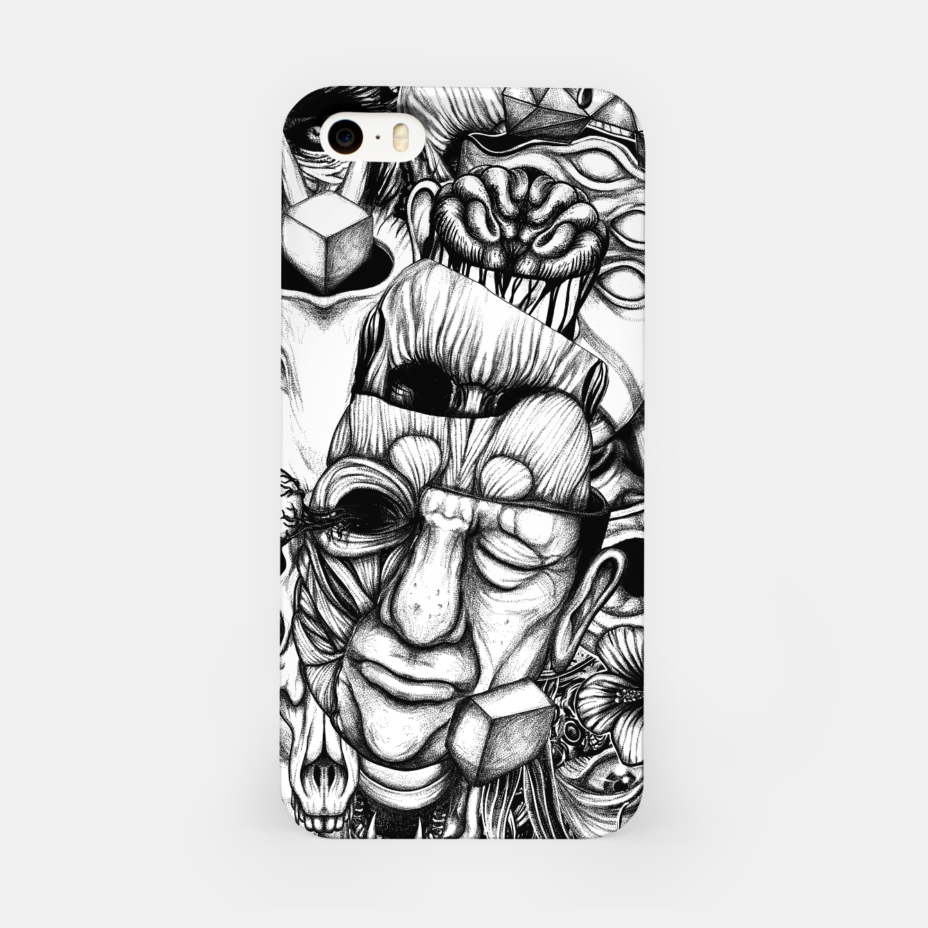 Foto Confusion  iPhone Case - Live Heroes