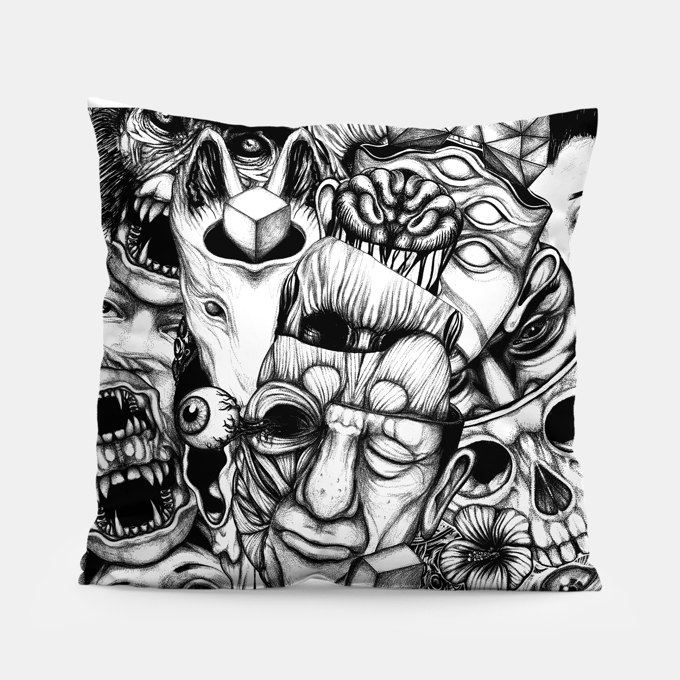 Foto Confusion  Pillow - Live Heroes