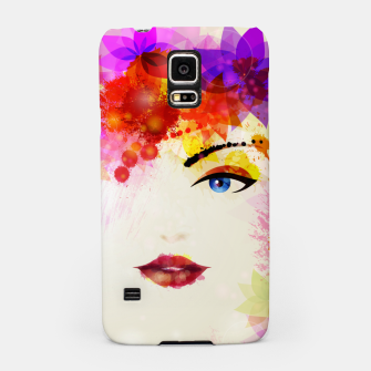 Thumbnail image of Glossy Face Samsung Case, Live Heroes