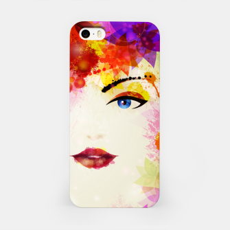 Thumbnail image of Glossy Face iPhone Case, Live Heroes