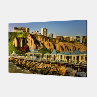 Thumbnail image of Lima Peru Coastal Scene Photo Canvas, Live Heroes