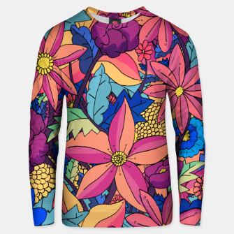 Thumbnail image of flowers upon flowers 2 Unisex sweater, Live Heroes