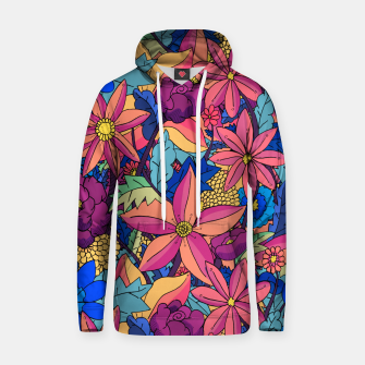 Thumbnail image of flowers upon flowers 2 Hoodie, Live Heroes
