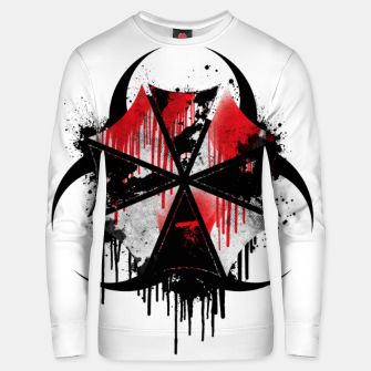 Thumbnail image of Hazardous Umbrella Unisex sweater, Live Heroes