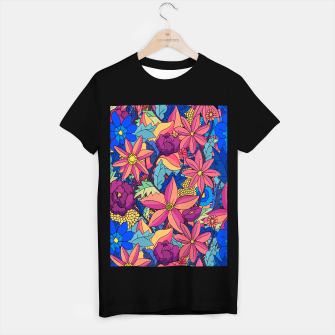 Miniatur flowers upon flowers 2 T-shirt regular, Live Heroes