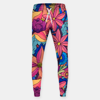 Thumbnail image of flowers upon flowers 2 Sweatpants, Live Heroes