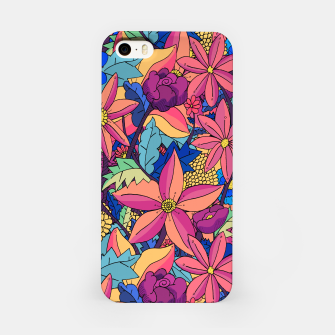 Miniatur flowers upon flowers 2 iPhone Case, Live Heroes