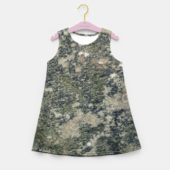 Thumbnail image of Grunge Camo Print Design Girl's summer dress, Live Heroes