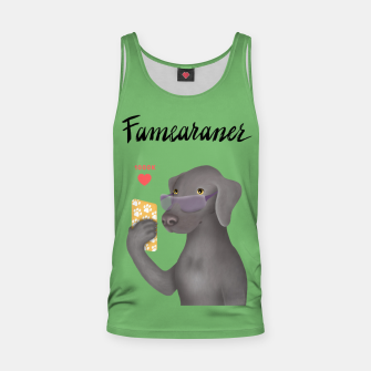 Thumbnail image of Famearaner (Green Background) Tank Top, Live Heroes