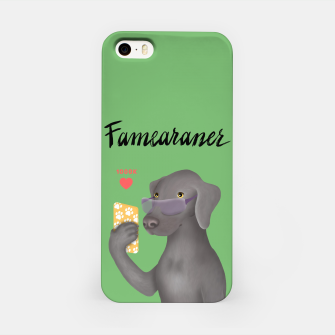Thumbnail image of Famearaner (Green Background) iPhone Case, Live Heroes