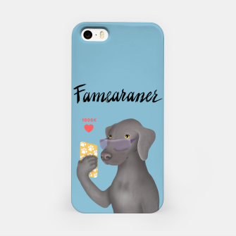 Thumbnail image of Famearaner (Blue Background) iPhone Case, Live Heroes