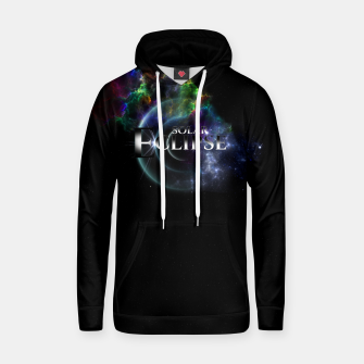 Thumbnail image of Solar Eclipse Fractal Art Spacescape ZO Hoodie, Live Heroes