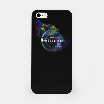 Miniaturka Solar Eclipse Fractal Art Spacescape ZO iPhone Case, Live Heroes