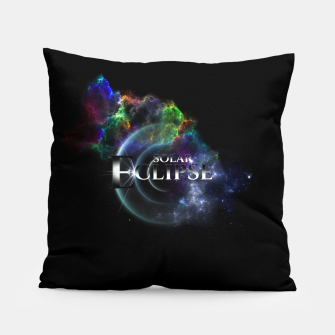 Miniaturka Solar Eclipse Fractal Art Spacescape ZO Pillow, Live Heroes