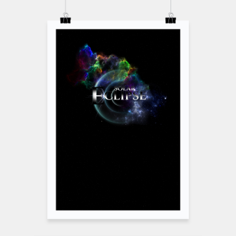 Thumbnail image of Solar Eclipse Fractal Art Spacescape ZO Poster, Live Heroes