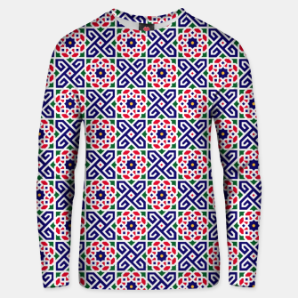 Thumbnail image of Original Traditional Moroccan Mosaic. Unisex sweater, Live Heroes