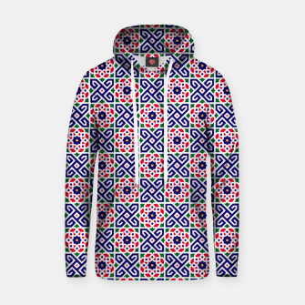 Thumbnail image of Original Traditional Moroccan Mosaic. Hoodie, Live Heroes