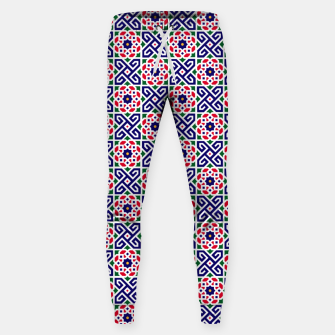 Thumbnail image of Original Traditional Moroccan Mosaic. Sweatpants, Live Heroes