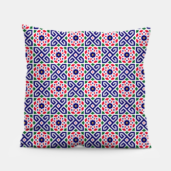 Thumbnail image of Original Traditional Moroccan Mosaic. Pillow, Live Heroes