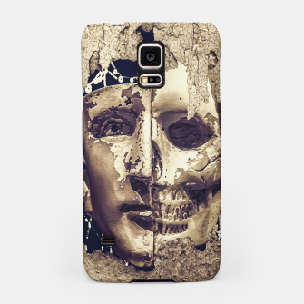 Thumbnail image of Creepy Photo Collage Artwork Samsung Case, Live Heroes
