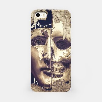 Thumbnail image of Creepy Photo Collage Artwork iPhone Case, Live Heroes