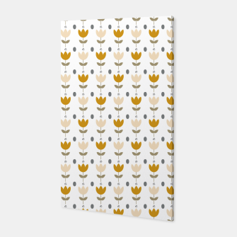 Thumbnail image of Simple floral pattern Canvas, Live Heroes