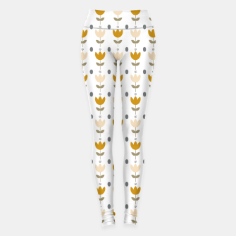Thumbnail image of Simple floral pattern Leggings, Live Heroes