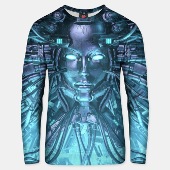 Thumbnail image of Mind of the Machine Unisex sweater, Live Heroes