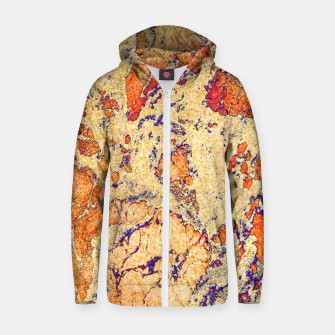 Thumbnail image of Abstract Gold Zip up hoodie, Live Heroes