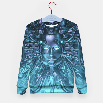 Thumbnail image of Mind of the Machine Kid's sweater, Live Heroes
