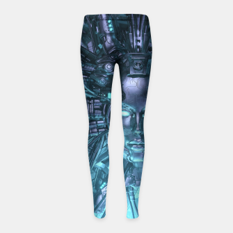 Thumbnail image of Mind of the Machine Girl's leggings, Live Heroes