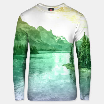 Miniaturka Lake View Unisex sweater, Live Heroes
