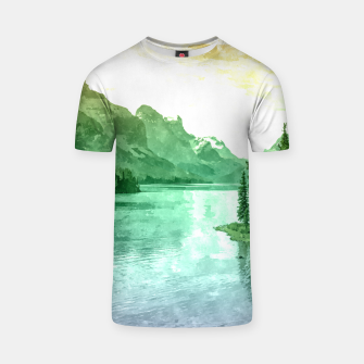 Miniaturka Lake View T-shirt, Live Heroes