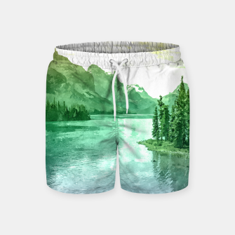 Miniaturka Lake View Swim Shorts, Live Heroes
