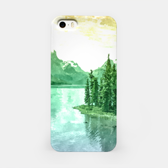 Miniaturka Lake View iPhone Case, Live Heroes