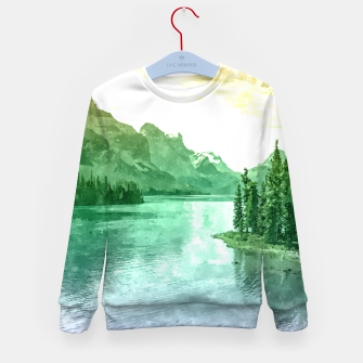 Miniaturka Lake View Kid's sweater, Live Heroes