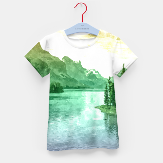 Miniaturka Lake View Kid's t-shirt, Live Heroes