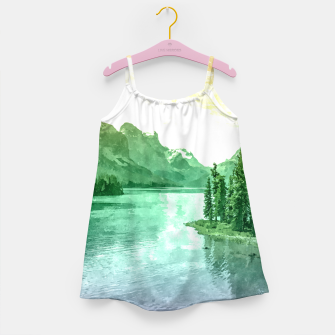 Miniaturka Lake View Girl's dress, Live Heroes