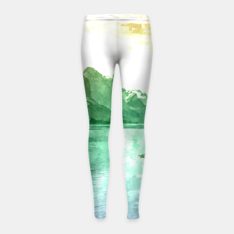 Miniaturka Lake View Girl's leggings, Live Heroes