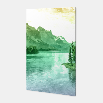 Miniaturka Lake View Canvas, Live Heroes