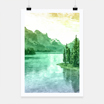 Thumbnail image of Lake View Poster, Live Heroes