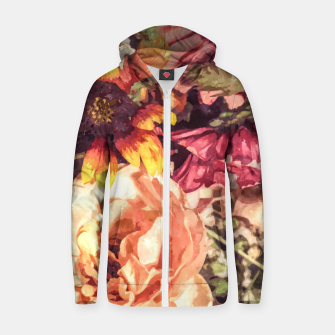 Thumbnail image of Forever Love Zip up hoodie, Live Heroes