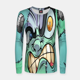Thumbnail image of Frankenstein Women sweater, Live Heroes