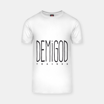 Thumbnail image of Demigod Trainee T-Shirt, Live Heroes