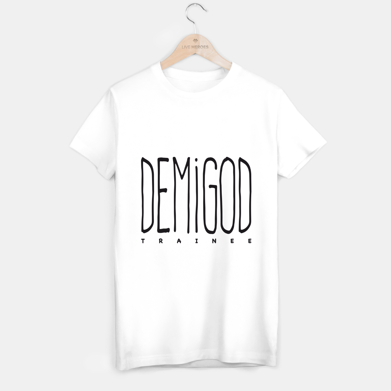 Image of Demigod Trainee T-Shirt regulär - Live Heroes