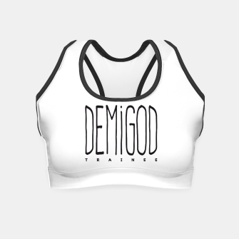 Demigod Trainee Crop Top obraz miniatury