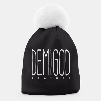 Demigod Trainee (White on Black) Mütze thumbnail image