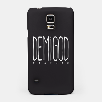 Thumbnail image of Demigod Trainee (White on Black) Handyhülle für Samsung, Live Heroes