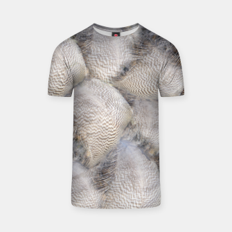 Thumbnail image of Feathers T-Shirt, Live Heroes