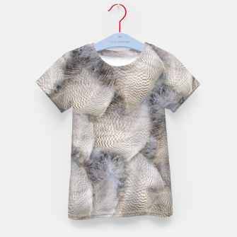 Thumbnail image of Feathers T-Shirt für kinder, Live Heroes